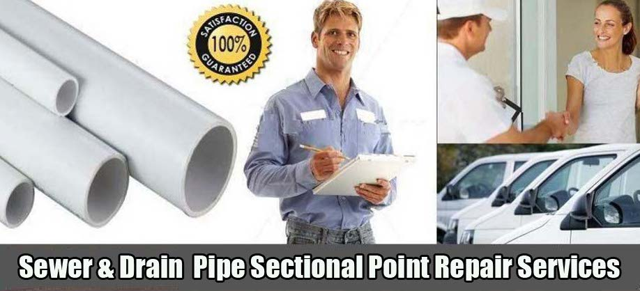 Trenchless Sewer Services Sectional Point Repair